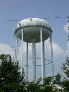 CCUSA water tower