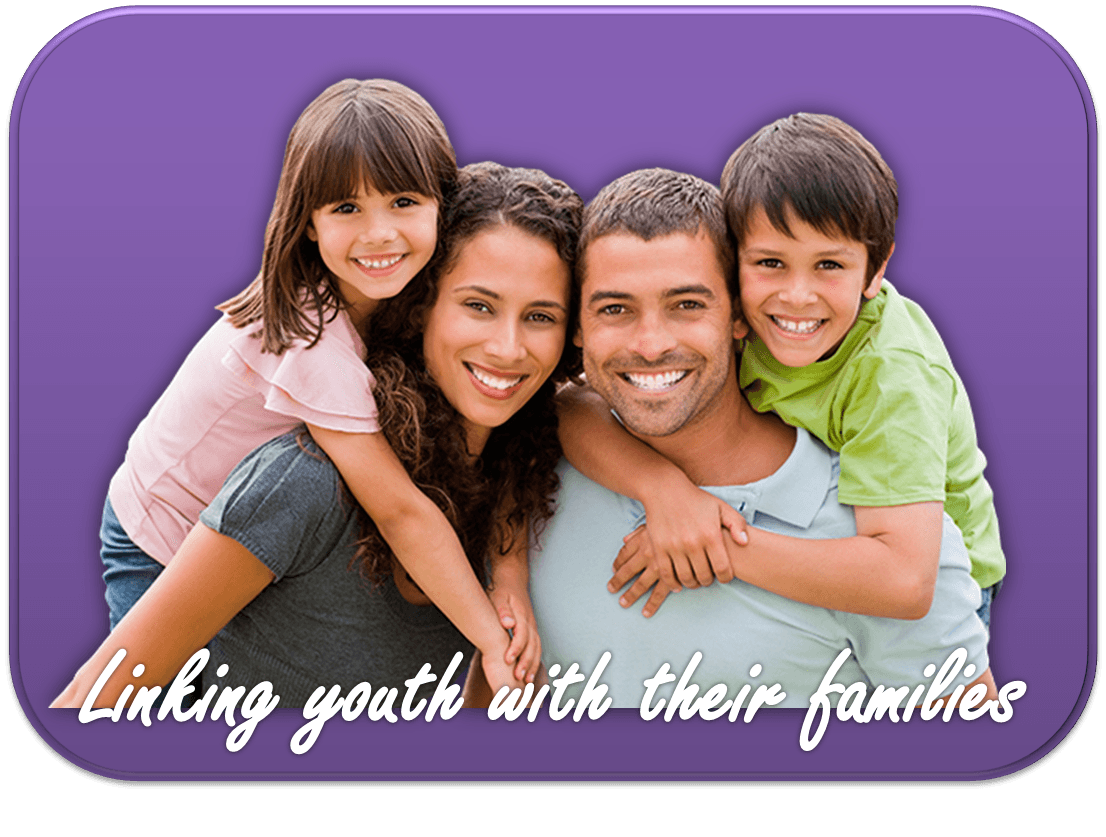 Linking Youth With Their Families Banner